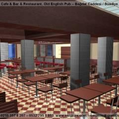 SERPİCİ's Mimarlık ve İç Mimarlık Architecture and INTERIOR DESIGN – SERPİCİ's MİMARLIK ve İÇ MİMARLIK – S's Desıgn – KAFE BAR RESTAURANT PROJELERİ:  tarz Bar & kulüpler