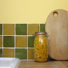 Kitchen Tile Installation:  Walls by Deiniol Williams Ceramics