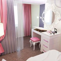 Квартира - спальная: Спальни в . Автор – Первое Дизайн-Бюро