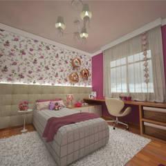 غرفة الاطفال تنفيذ Ao Cubo Arquitetura e Interiores