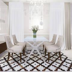 apartment:  Dining room by KOKON zespół architektoniczny