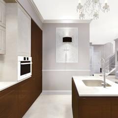 apartment:  Kitchen by KOKON zespół architektoniczny,Eclectic
