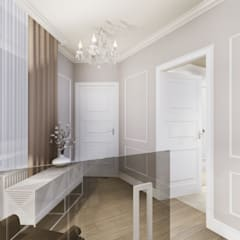 apartment:  Corridor & hallway by KOKON zespół architektoniczny,Eclectic
