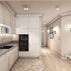 CREME DE LA CREME: styl , w kategorii Kuchnia zaprojektowany przez Kołodziej & Szmyt Projektowanie wnętrz