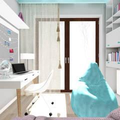 CREME DE LA CREME: styl , w kategorii Pokój dziecięcy zaprojektowany przez Kołodziej & Szmyt Projektowanie wnętrz