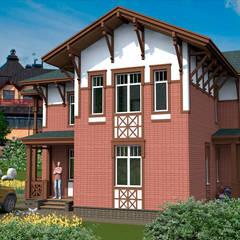 Общий вид/Модель: Дома в . Автор – Fusion House