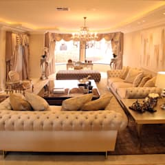 Formal Lounge:  Living room by Tru Interiors