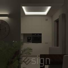 Włochy   Wizualizacje: styl , w kategorii Kuchnia zaprojektowany przez DW SIGN Pracownia Architektury Wnętrz,
