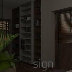 Włochy | Wizualizacje: styl , w kategorii Sypialnia zaprojektowany przez DW SIGN Pracownia Architektury Wnętrz