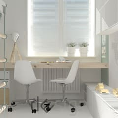 Targówek   pokój dziecięcy: styl , w kategorii Pokój dziecięcy zaprojektowany przez DW SIGN Pracownia Architektury Wnętrz