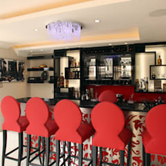 Bar Area:  Patios by Tru Interiors