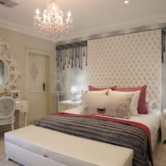 Little Girls Bedroom:  Bedroom by Tru Interiors