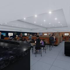 Interior: Shopping Centers  por MRAM Studio