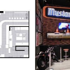 Entrada e Planta: Shopping Centers  por MRAM Studio