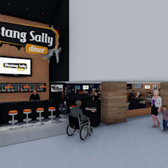 Entrada/Recepção: Shopping Centers  por MRAM Studio