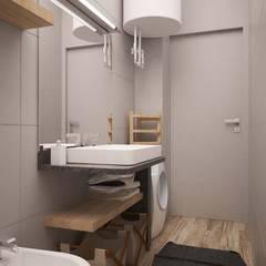 CORSO TORTONA: Bagno in stile  di LAB16 architettura&design