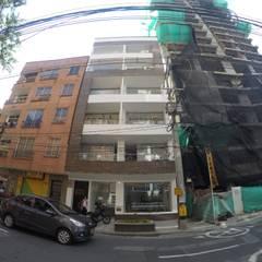 Torre Ángel: Ventanas de estilo  por Le.tengo Arquitectos
