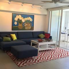 : Salas / recibidores de estilo  por THE muebles, Moderno