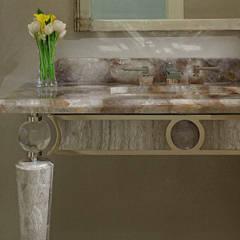 Powder Room Detail:  Bathroom by Douglas Design Studio