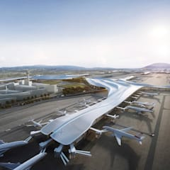 Aedas wins two international competitions to design airport buildings:  Airports by Architecture by Aedas, Modern