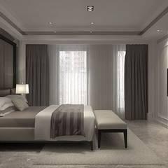 松山 王公館:  臥室 by 成綺空間設計
