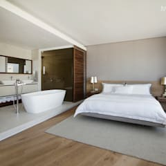 Clifton Apartment: minimalistic Bedroom by Make Architects + Interior Studio