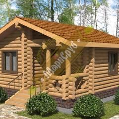 """Одноэтажный дом с крыльцом """"Солнечный"""": Дома в . Автор – Марисруб,"""