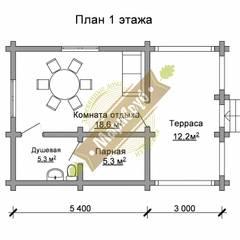 Spa de estilo  por Марисруб, Clásico Derivados de madera Transparente