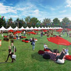 Feria de Diseño Gipsy Market: Jardines de estilo  por Arquitectura y Diseño Digital