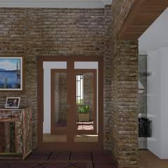 Corridor & hallway by ARBOL Arquitectos