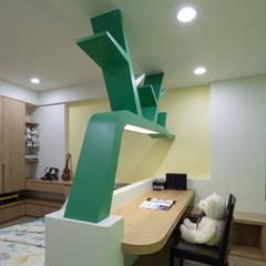 溫馨簡約風:  嬰兒房/兒童房 by IDR室內設計