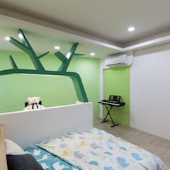 Nursery/kid's room by IDR室內設計
