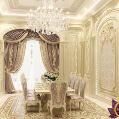 Dining room Interior design of Katrina Antonovich: classic Dining room by Luxury Antonovich Design