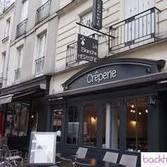 rénovation et décoration d'un restaurant sur Nantes: Restaurants de style  par Backhome