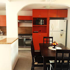 مطبخ تنفيذ Constructora e Inmobiliaria Catarsis,