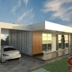 :  Houses by GhiorziTavares Arquitetura,Minimalist Iron/Steel