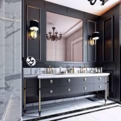 Villa Balıkesir Modern Banyo VERO CONCEPT MİMARLIK Modern