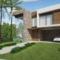 Fachada: Casas  por Quitete&Faria Arquitetura e Decoração