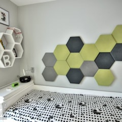 Nursery/kid's room by MARTA PAWLAK  ARCHITEKTURA  WNĘTRZ
