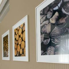 Делаем из однокомнатной квартиры двушку на Голосеевской: Стены в . Автор – B-design