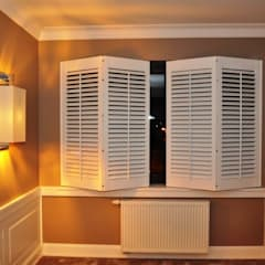 Shutters by Gama Styl, Mediterranean Solid Wood Multicolored