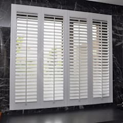 Shutters by Gama Styl, Mediterranean Wood Wood effect