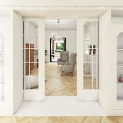 Tv kamer en suite:  Mediakamer door De Nieuwe Context