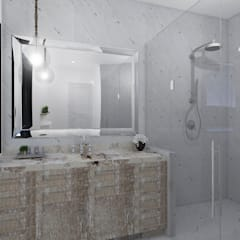 Baños de estilo  de TAMEN arquitectura, Moderno
