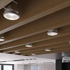 Оригинальный дизайн потолка: Стены в . Автор – ASTER DECO
