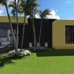 Casa Los Cerros Casas modernas de ARQUITECTO JUAN ANDRES GUTIERREZ PEREZ Moderno