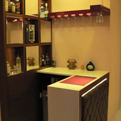 Wine cellar by Nandita Manwani, Modern