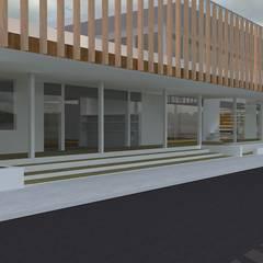 新・保育園: 株式会社 匠明が手掛けた病院です。