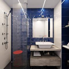 ул. Тухачевского: Ванные комнаты в . Автор – Кирилл Пономаренко
