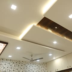 master bedroom ceiling: modern Bedroom by Hasta architects